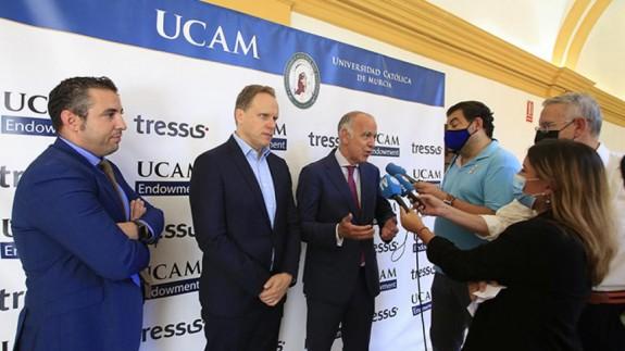 José Luis Mendoza, Daniel Lacalle y José Miguel Maté