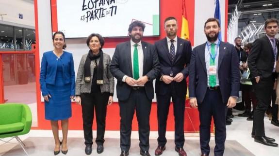 """Presentación de """"El Camino de la Cruz"""" en Fitur"""