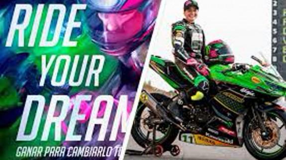 'Ride your dream', el documental sobre la vida de Ana Carrasco, que hoy estrena en abierto el canal Rakuten TV