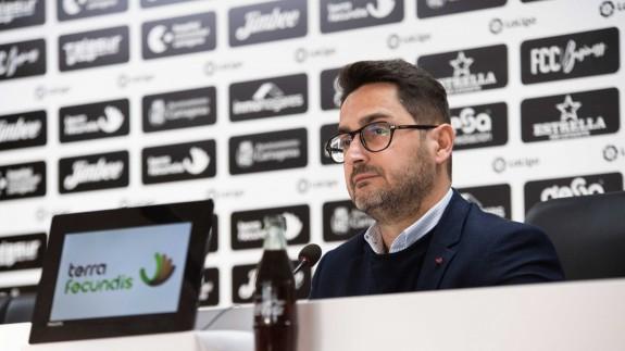 Paco Belmonte, presidente del FC Cartagena