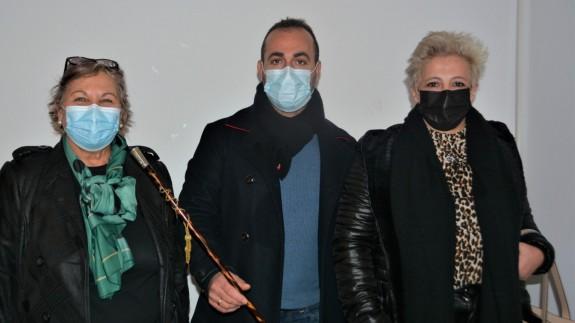 El alcalde Rubén Carrasco (en el centro) el día de su toma de posesión