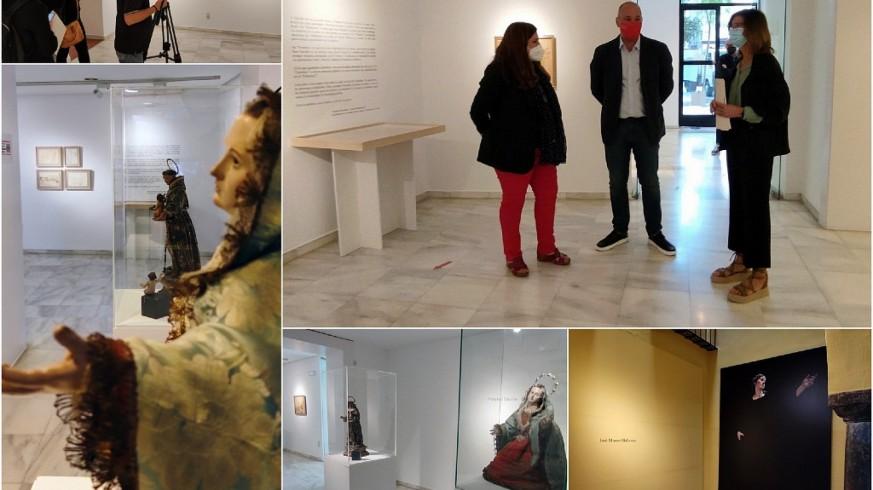 Imágenes de la exposición 'En torno a Salzillo' en el Museo Ramón Gaya