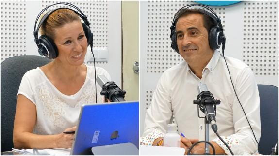 María José Pérez y Víctor Manuel López