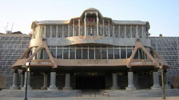 Fachada de la Asamblea Regional (archivo). REGMURCIA
