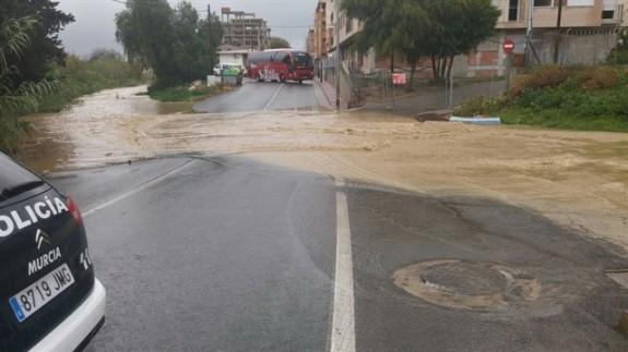 Efectos de las lluvias torrenciales del pasado enero