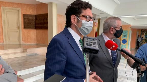 Pascual del Riquelme en la Asamblea Regional.