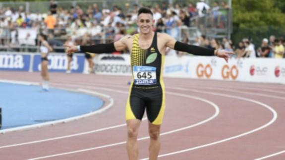 Sergio López en una carrera. FOTO: ORM.
