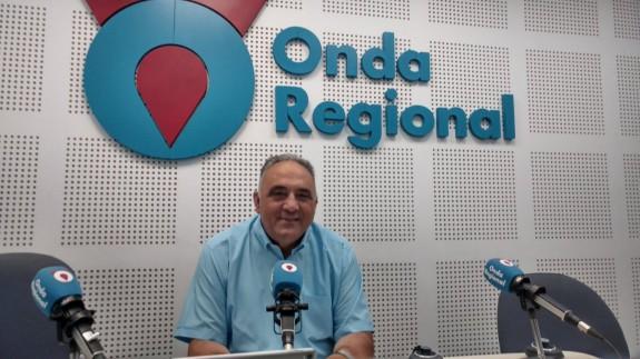 El escultor José Hernández Navarro en Onda Regional