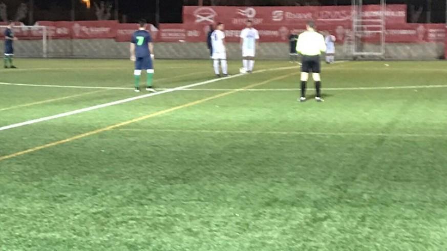 Victoria del Estudiantes ante Los Garres (1-0)
