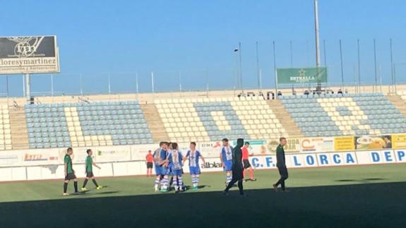 El Lorca Deportiva gana 4-0 al Jerez