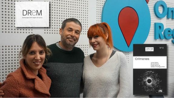 Natalia Rodríguez, Jesús Galera y Raquel Garod