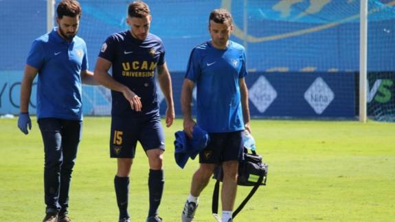 Carlos López, en su etapa con el UCAM Murcia CF