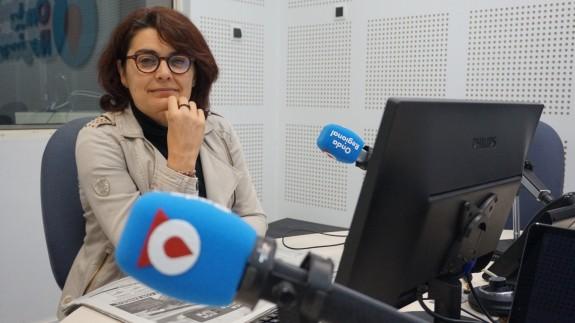 Clara Alarcón en Onda Regional