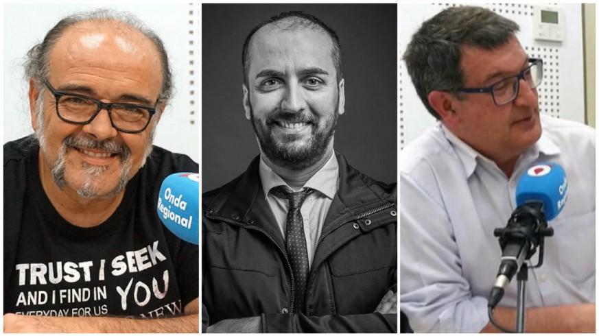Antonio Saura, Juan Pablo Soler y Pedro Quílez