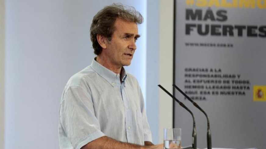 Sanidad detecta 40 brotes, pero le preocupan 'de verdad' los de Aragón y Málaga