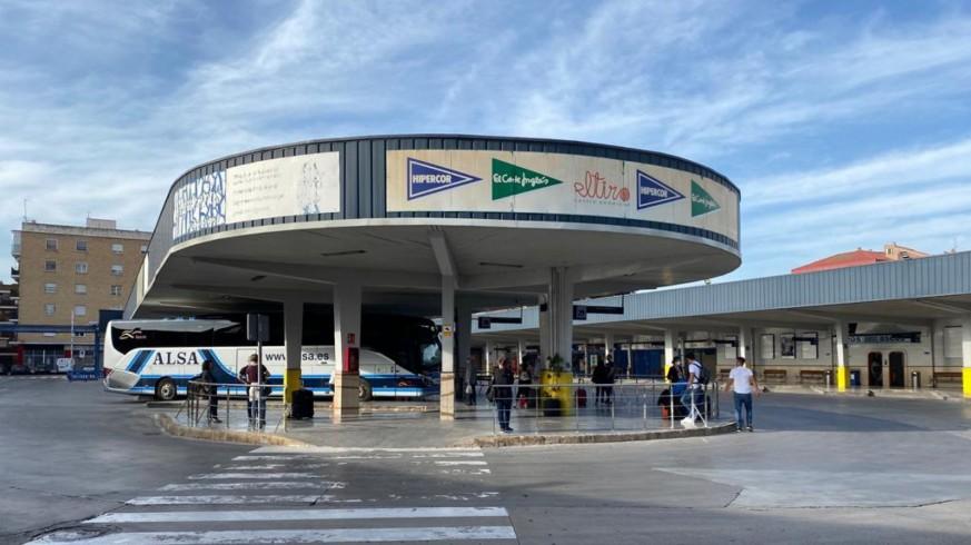 Estación de autobuses de Murcia. CARM