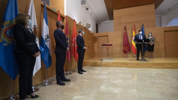 Últimos cambios de gobierno, con Campuzano, Celdrán y Ortuño. CARM