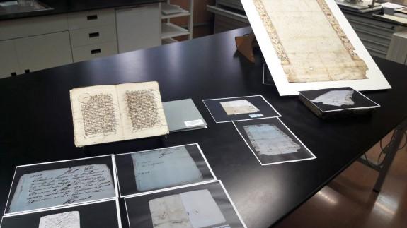 Restauración de los documentos históricos. ORM