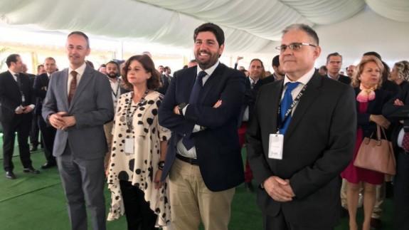 Miras ha inaugurado las nuevas instalaciones de la empresa Tahe