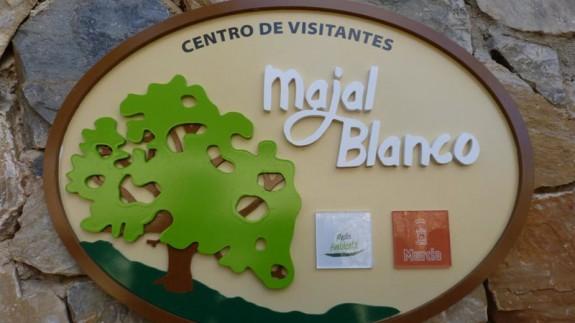 Placa del parque forestal Majal Blanco