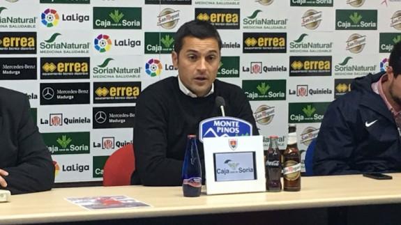 Francisco tras la derrota en Soria (foto: ORM)