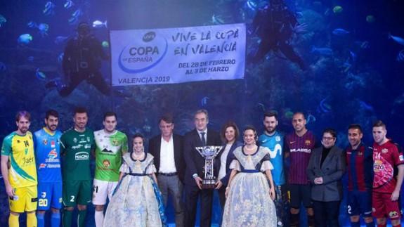 Fernando Aguilera ha representado a ElPozo en el sorteo de la Copa de España de fútbol sala
