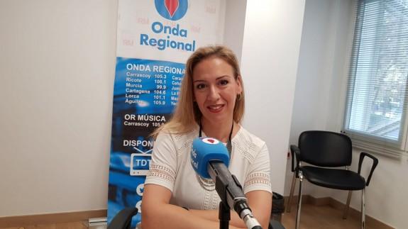 Ana María Fernández en una imagen de archivo de Onda Regional