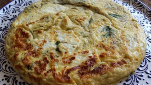 EL ROMPEOLAS. Comer sano y rico. Tortilla de queso fresco del Siglo de Oro español