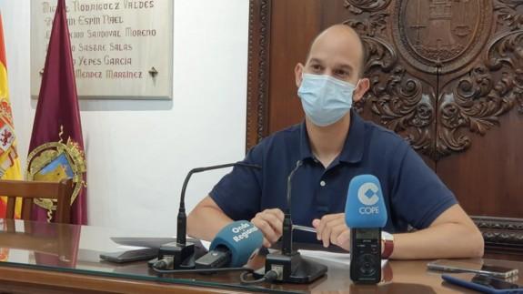 José Ángel Ponce, concejal de Sanidad. FOTO: AYTO DE LORCA