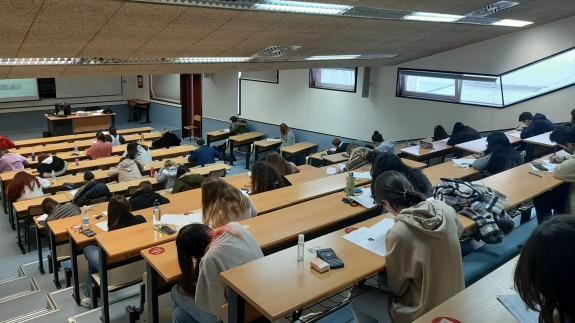 Exámenes en la UMU el pasado mes de enero