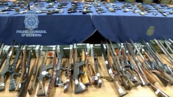Desmantelan uno de los mayores entramados criminales dedicados a la comercialización ilícita de armas