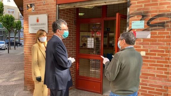 Servicios Sociales duplica el número de familias atendidas en el último mes en el municipio de Murcia