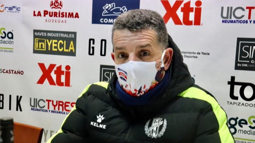 Héctor Sandroni en rueda de prensa. FOTO: David Castillo.