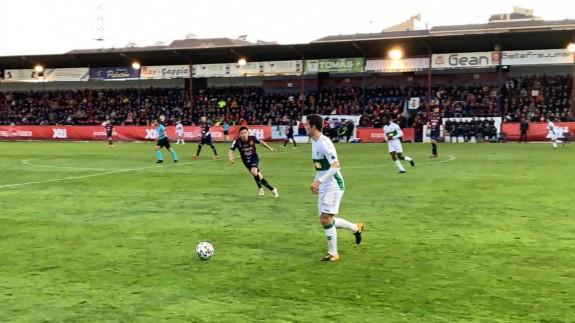 El Yeclano cae 1-2 ante el Elche y queda eliminado de la Copa del Rey
