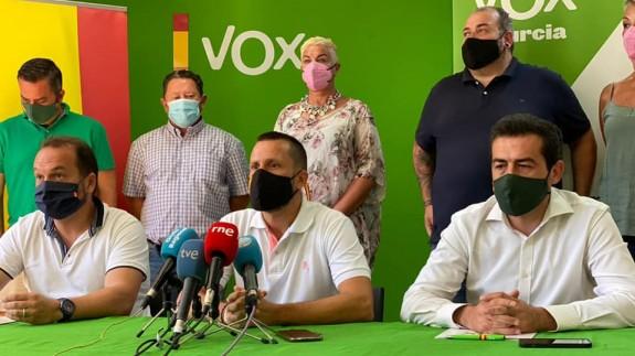 Podemos exige la salida de los pedáneos de VOX, entre ellos José Joaquín Arias, de Guadalupe. Foto: VOX Guadalupe