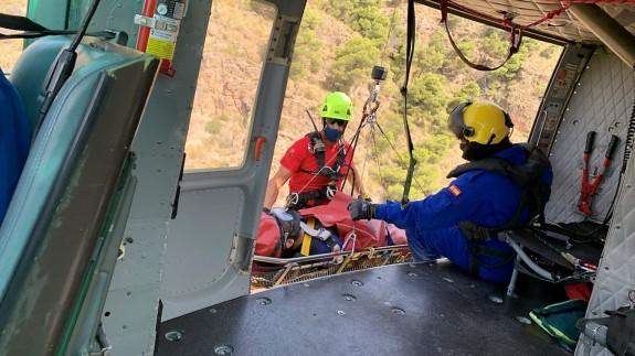 Rescate en Sierra Espuña