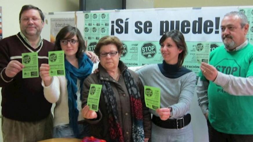 Representantes de la PAH en la Región. Archivo