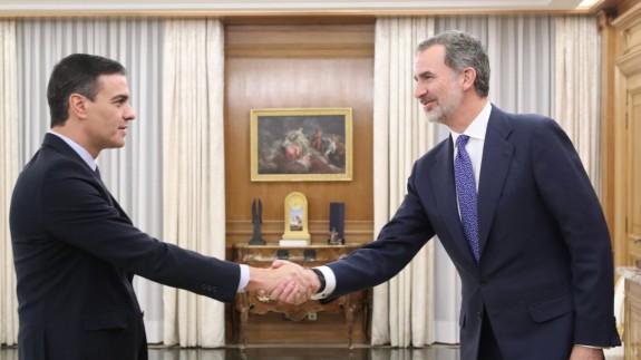 Pedro Sánchez, designado por tercera vez candidato a presidente del Gobierno por el Rey
