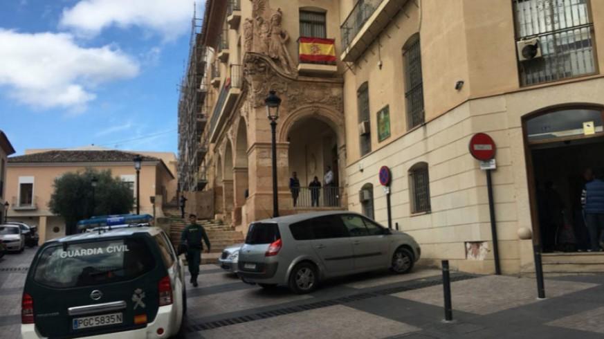 Imagen de archivo de los juzgados de Lorca