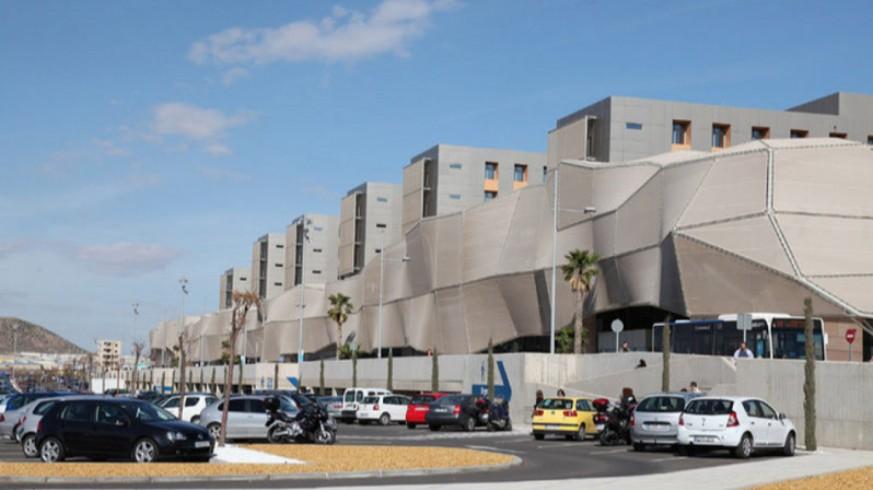 Hospital Santa Lucía de Cartagena. FOTO: CARM