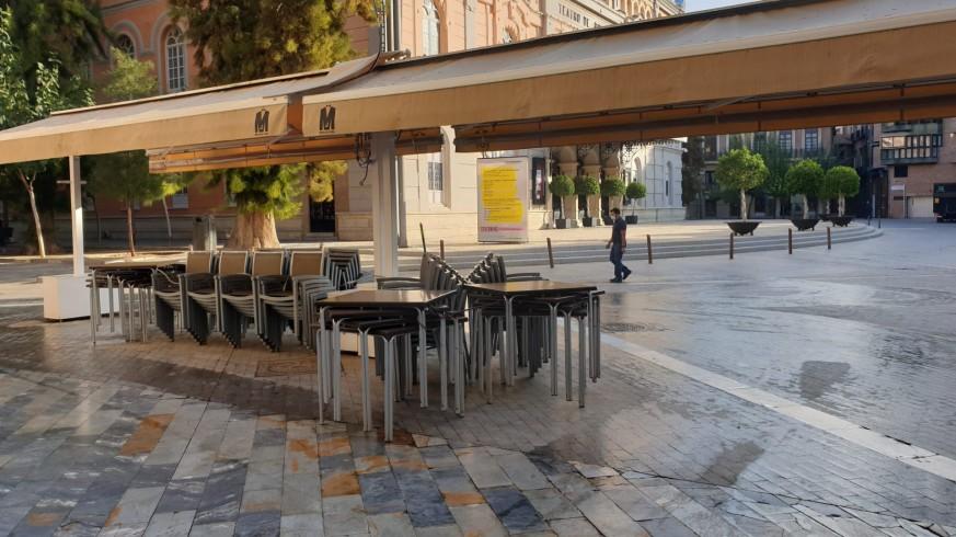 Local de restauración en el centro de Murcia