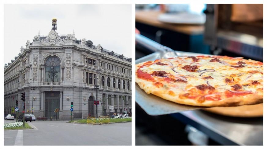 PLAZA PÚBLICA. Tertulia económica. El Banco de España no sabe lo que cuesta hornear una pizza