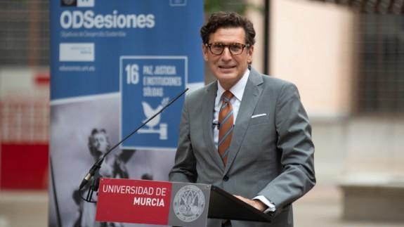 Miguel Pascual del Riquelme, en la inauguración de ODSesiones