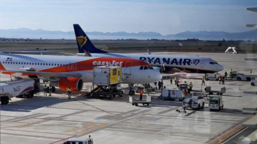 Imagen del aeropuerto de Corvera. Murcia