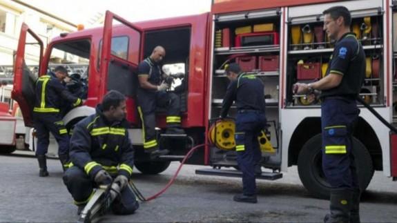 5 personas heridas, entre ellas dos bomberos, en un incendio en Espinardo