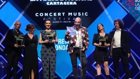 La Mar de Músicas se lleva para Cartagena el Premio Ondas a Mejor festival de España