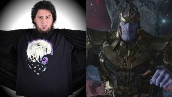 Jaime Caravaca y Thanos