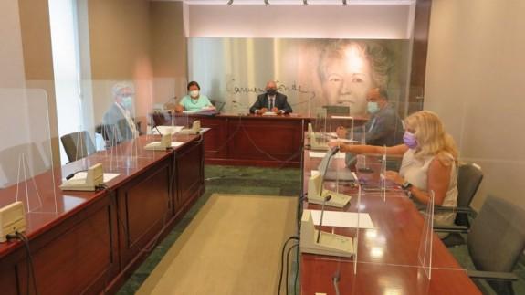 Mesa de la Asamblea. FOTO: ORM