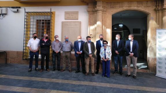 Los regantes de Lorca se manifestarán este sábado en defensa del trasvase Tajo-Segura