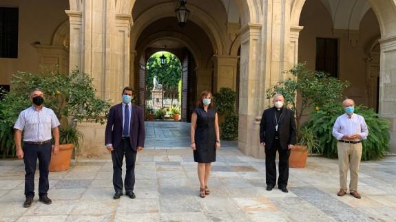 Presentación de las nuevas ayudas económicas que la Región de Murcia va a destinar para el alquiler de viviendas sociales